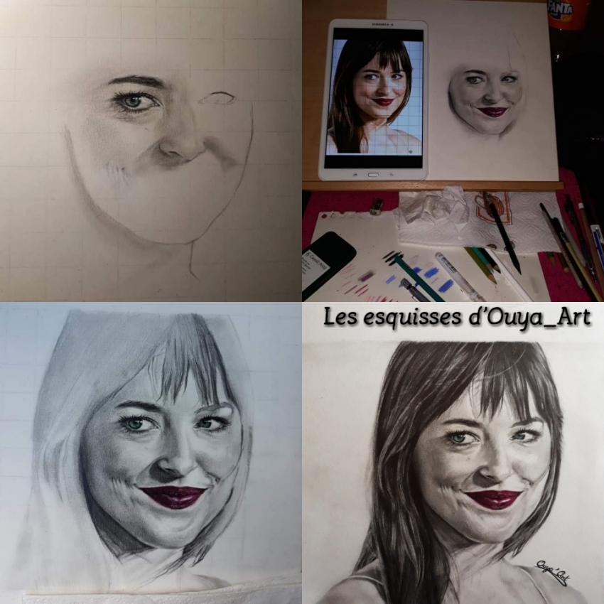 Dakota Johnson par OuyaArt